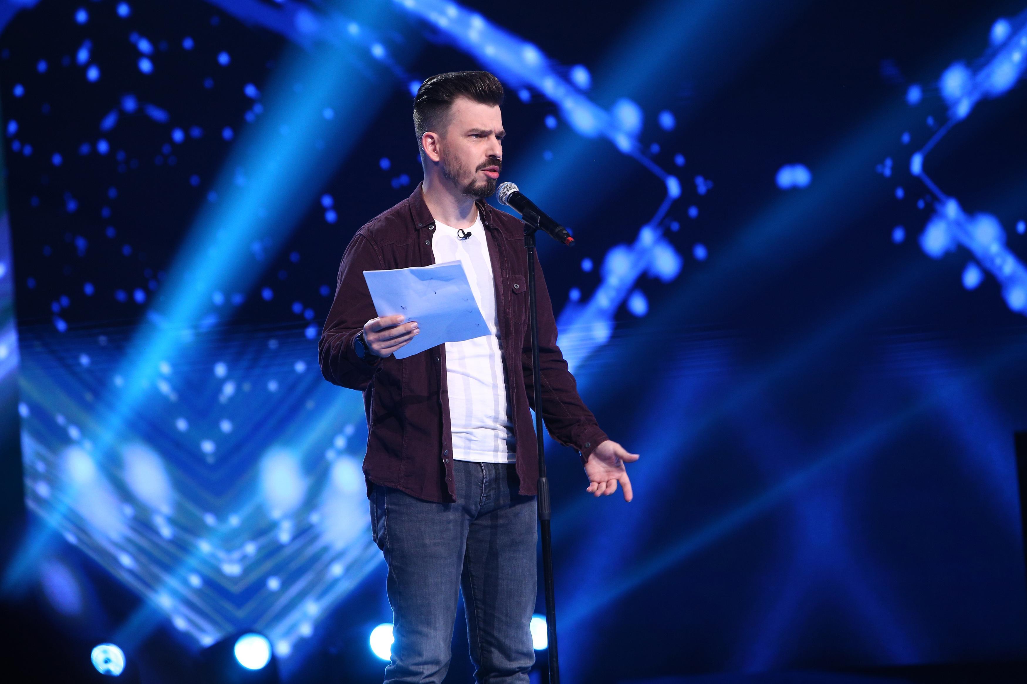 iUmor, 19 mai 2021. Andrei Garici a primit a doua șansă de la jurații  iUmor și a revenit cu un roast de zile mari
