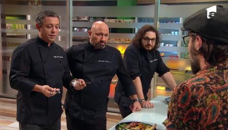 Sorin Bontea, Florin Dumitrescu și Cătălin Scărlătescu la degustarea din bootcamp