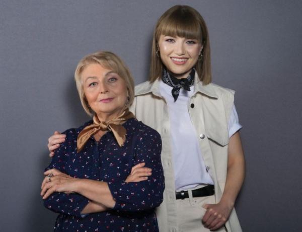 Alexandra Ungureanu și mama ei sunt foarte apropiate