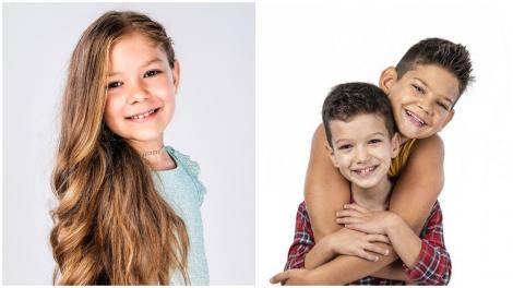 """Cât de mult au crescut Maria Nicole, Victor Popescu și Călin Popescu. Imagine inedită cu actorii din """"Fructul Oprit"""""""