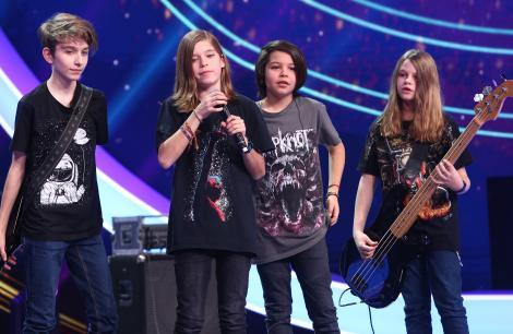 """Next Star, 22 mai 2021. Trupa Blană Bombă, momentul rock de senzație. Trupa a luat cu asalt scena: """"Sunt geniali!"""""""