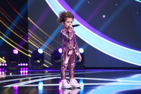 """Next Star, 22 mai 2021. La doar 4 ani, Brianna Fora a interpretat piesa """"Guguștiucul"""" și a făcut show: """"Guguștiucul e mortal!"""""""