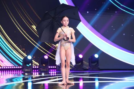 """Next Star, 22 mai 2021. Maria Răducanu, momentul de dans acrobatic care a impresionat publicul: """"Niciodată n-am văzut așa ceva!"""""""