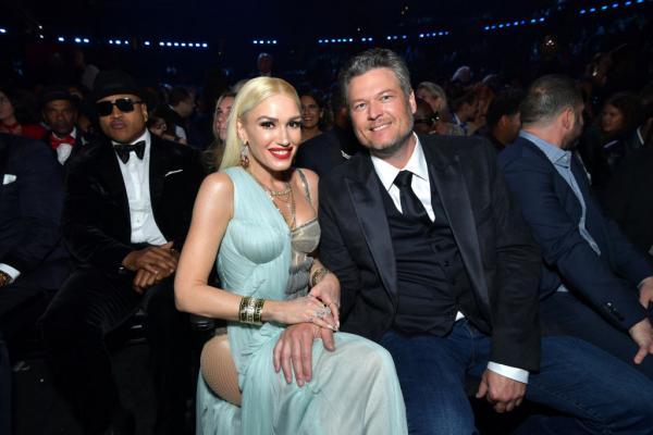 Gwen Stefani si sotul ei la un eveniment public