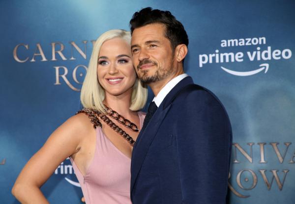 Katy Perry si Orlando Bloom, eveniment public