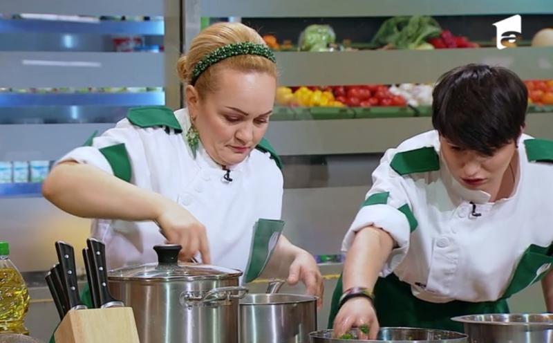 Victorina Matveev și Cristina Mălai la chefi la cutite