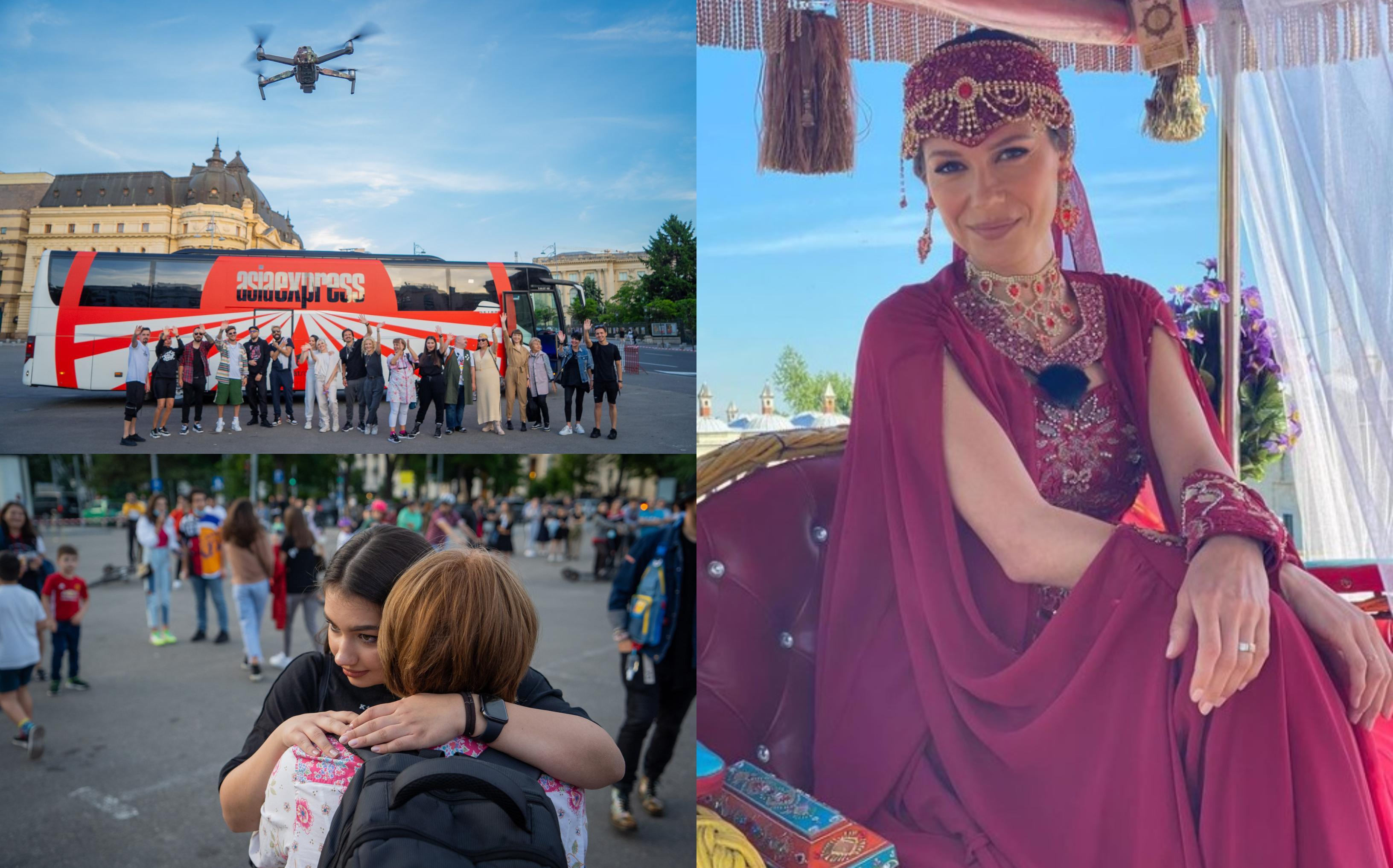 Irina Fodor, primele imagini din Asia Express - Drumul Împăraților. Cum arată ceremonia care deschide drumul experienței asiatice