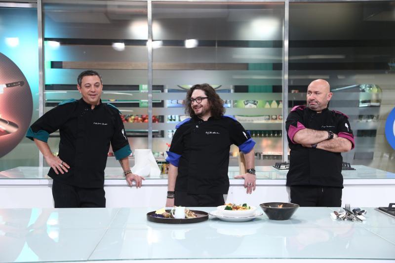 Sorin Bontea, Florin Dumitrescu și Cătălin Scărlătescu la degustare