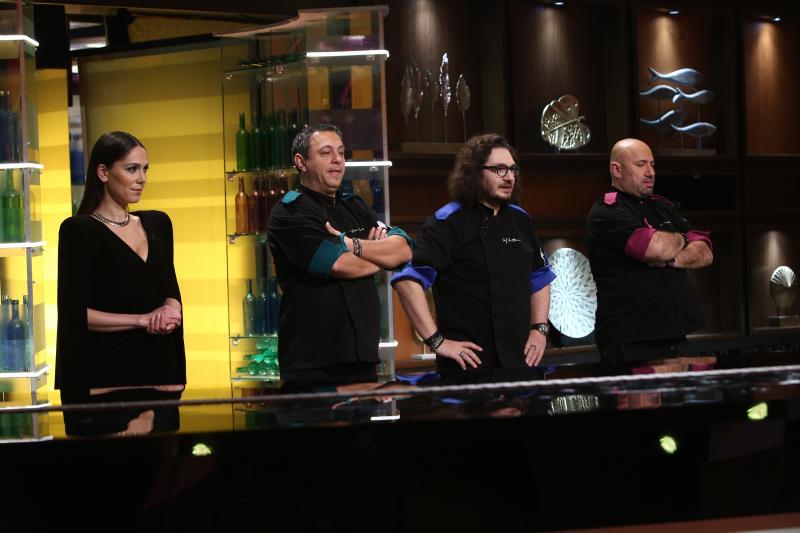 """Irina Fodor și jurații """"Chefi la cuțite"""""""