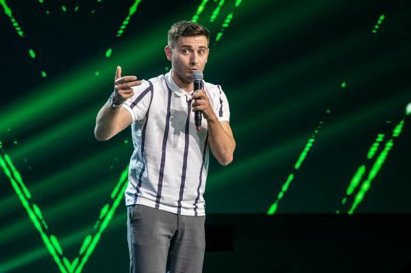 Alexandru Ghetan pe scenă