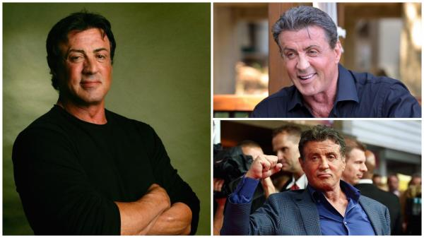 Sylvester Stallone în trei ipostaze diferite