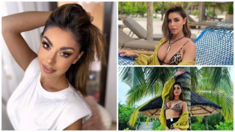 Natalia Mateuț în trei ipostaze diferite