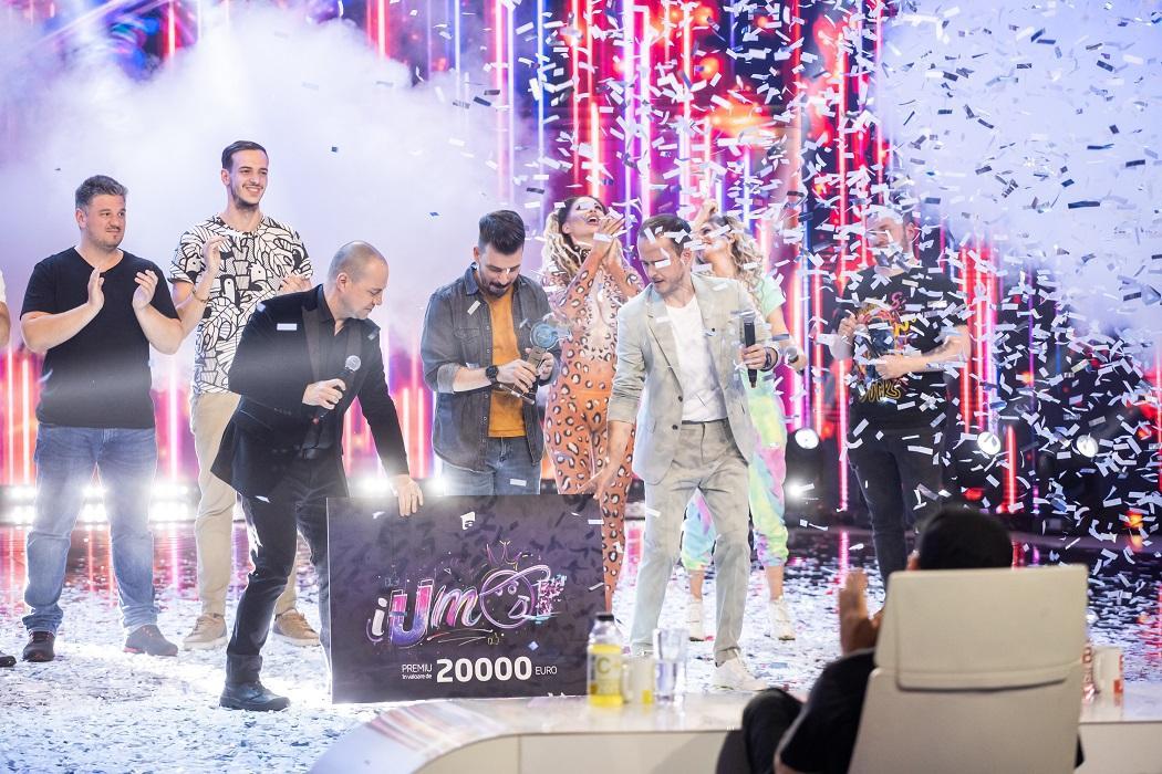 Andrei Garici este câştigătorul sezonului 10 iUmor. Finala iUmor, lider de audienţă pe toate categoriile de public