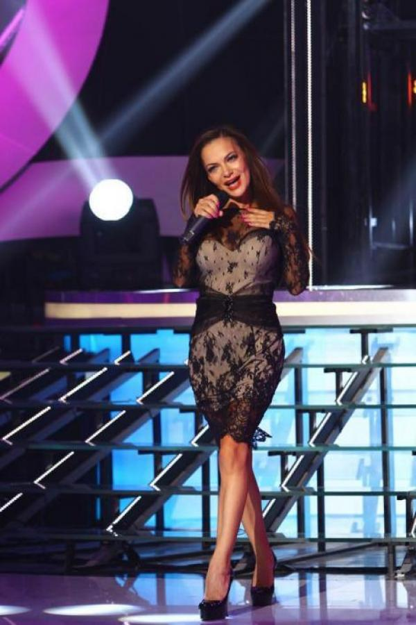 Andreea Antonescu a cântat în cadrul emisiunii Te cunosc de undeva de la Antena 1