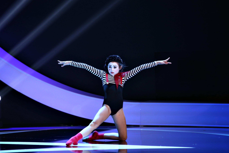 Next Star, 29 mai 2021. Isabel Ioniță, fiica Bebelușei Oana Ioniță, a făcut un spectacol de excepție de balet