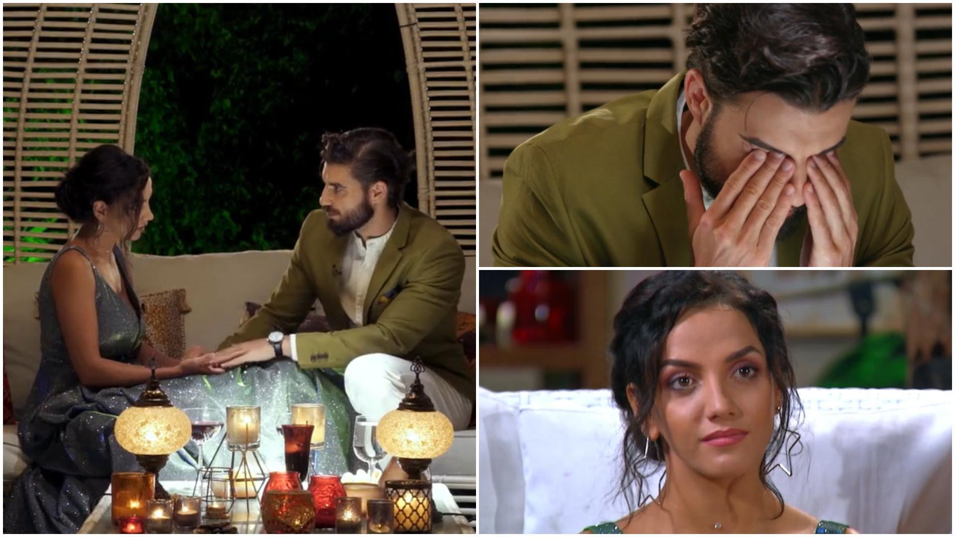 """Burlacul, 27 mai 2021. Ce au discutat Andi și Catrina înainte de Ceremonia Trandafirului: """"Mă doare să spun lucrul ăsta"""""""