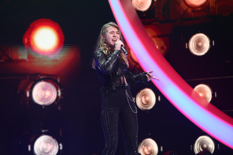 Next Star, 29 mai 2021. Polina Mislinskaya a zguduit scena Next Star pe ritmuri de rock și i-a uimit pe jurați
