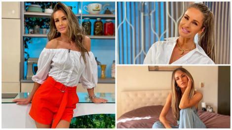 Diana Munteanu în 3 ipostaze diferite