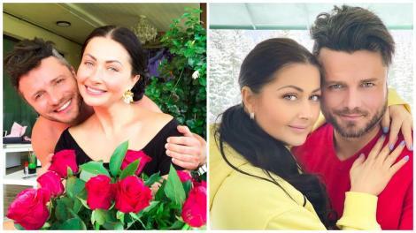 Tavi Clonda și Gabriela Cristea în două ipostaze diferite