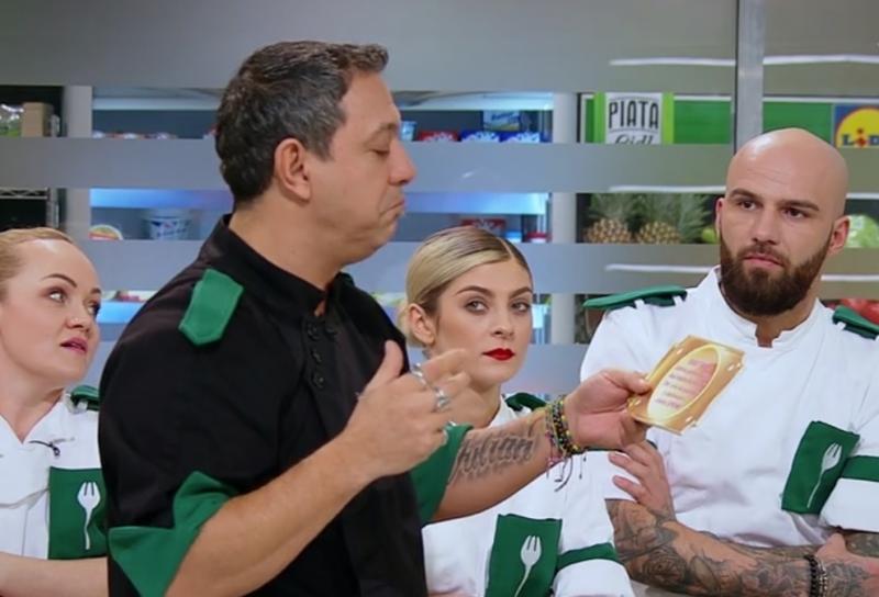 """Sorin Bontea la """"Chefi la cuțite"""""""