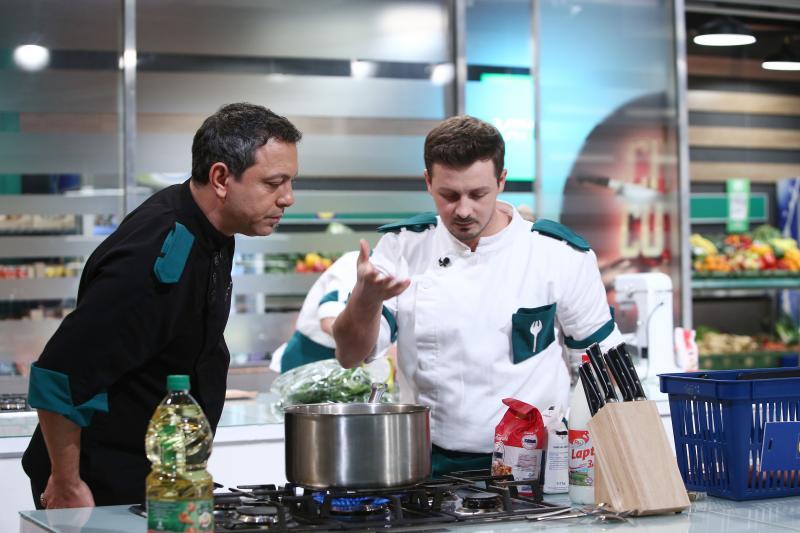 """Sorin Bontea și Florin Revesz, în sezonul 9 """"Chefi la cuțite"""""""
