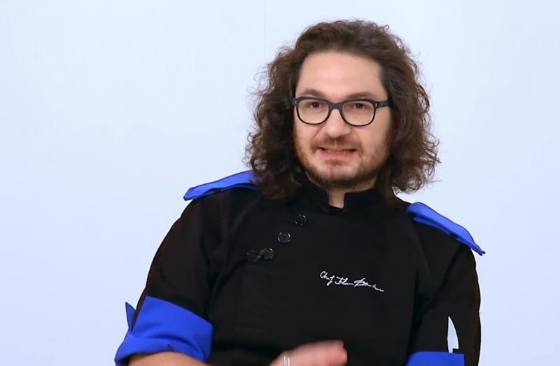 """Florin Dumitrescu la """"Chefi la cuțite"""""""