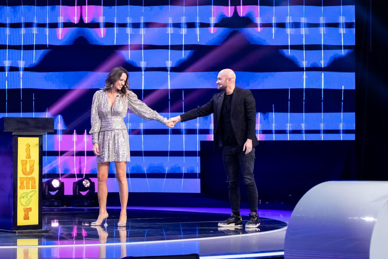 Andreea Marin și Mihai Bendeac pe scena iumor