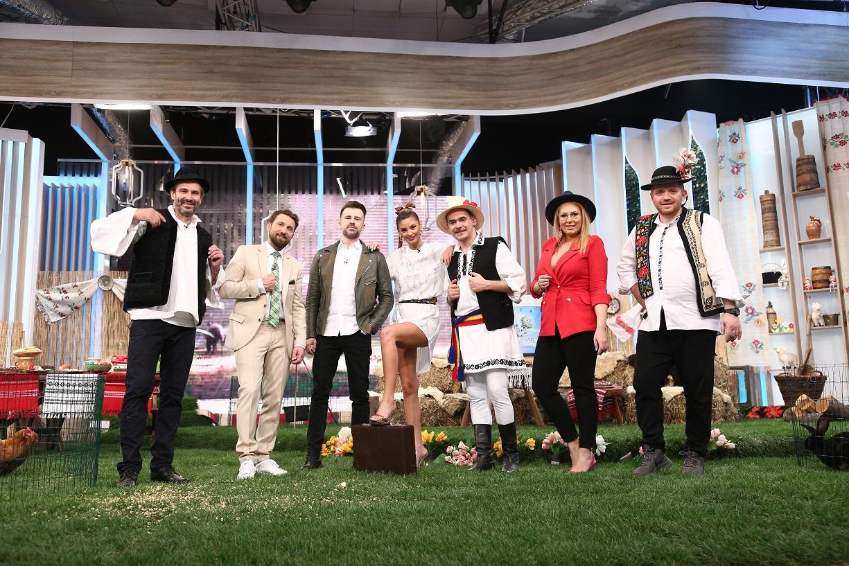 Echipa de la Super Neatza cu Răzvan și Dani, de Paște