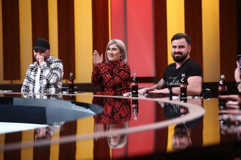 """Adda și Cătălin Rizea, soțul său, la degustare, """"Chefi la cuțite"""", sezonul 9"""