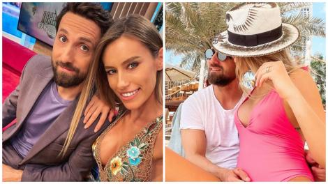 Dani Oțil și Gabriela Prisăcariu în două ipostaze diferite