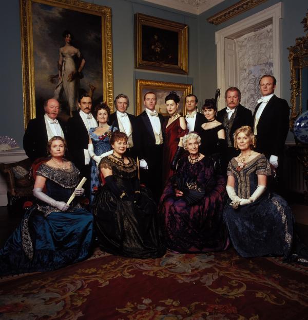 membrii familiei forsyte, portret de familie