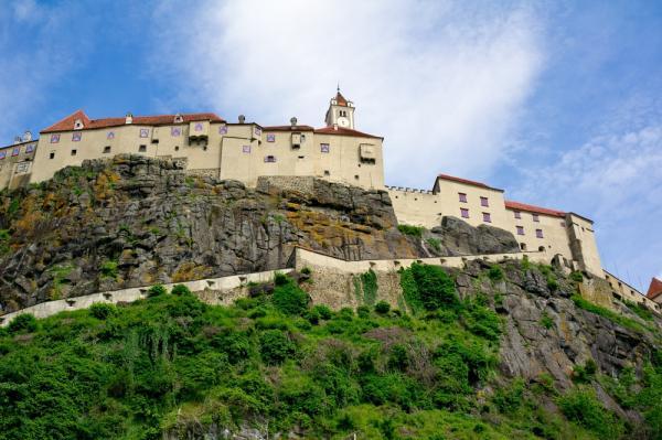 Castelul din Riegersburg, văzut ziua