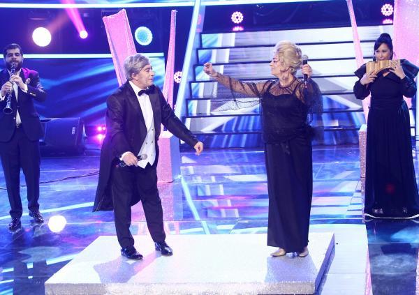 Adriana Trandafir și Romică Țociu pe scena