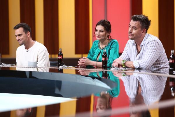 Răzvan Fodor, Vlad Gherman și Ioana Ginghină în platoul chefi la cutite
