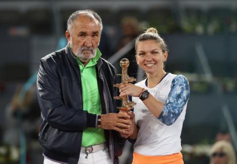 Ion Țiriac și Simona Halep