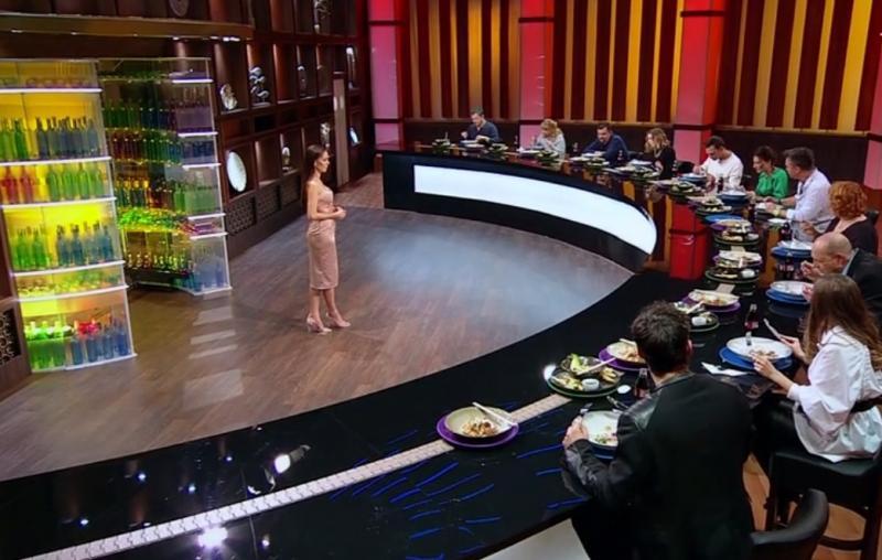 "Irina Fodor și actorii din serialul ""Adela"" in platoul chefi la cutite"