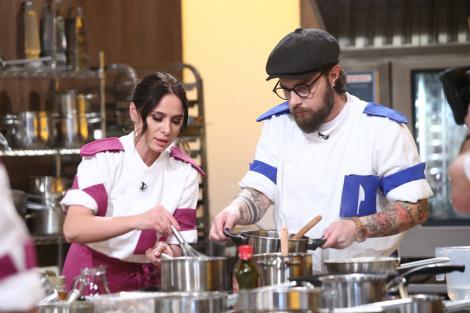 Ciprian Antone gătind la Chefi la cuțite