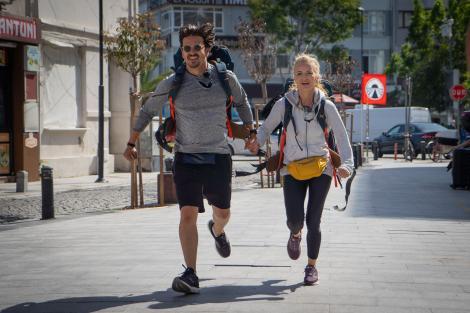 Eleira și Mihai Petre, alergând la Asia Express, sezon 4