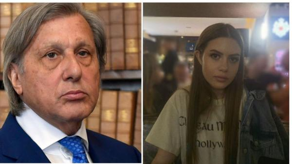 Ilie Năstase, alături de fiica lui cea mare, Alessia