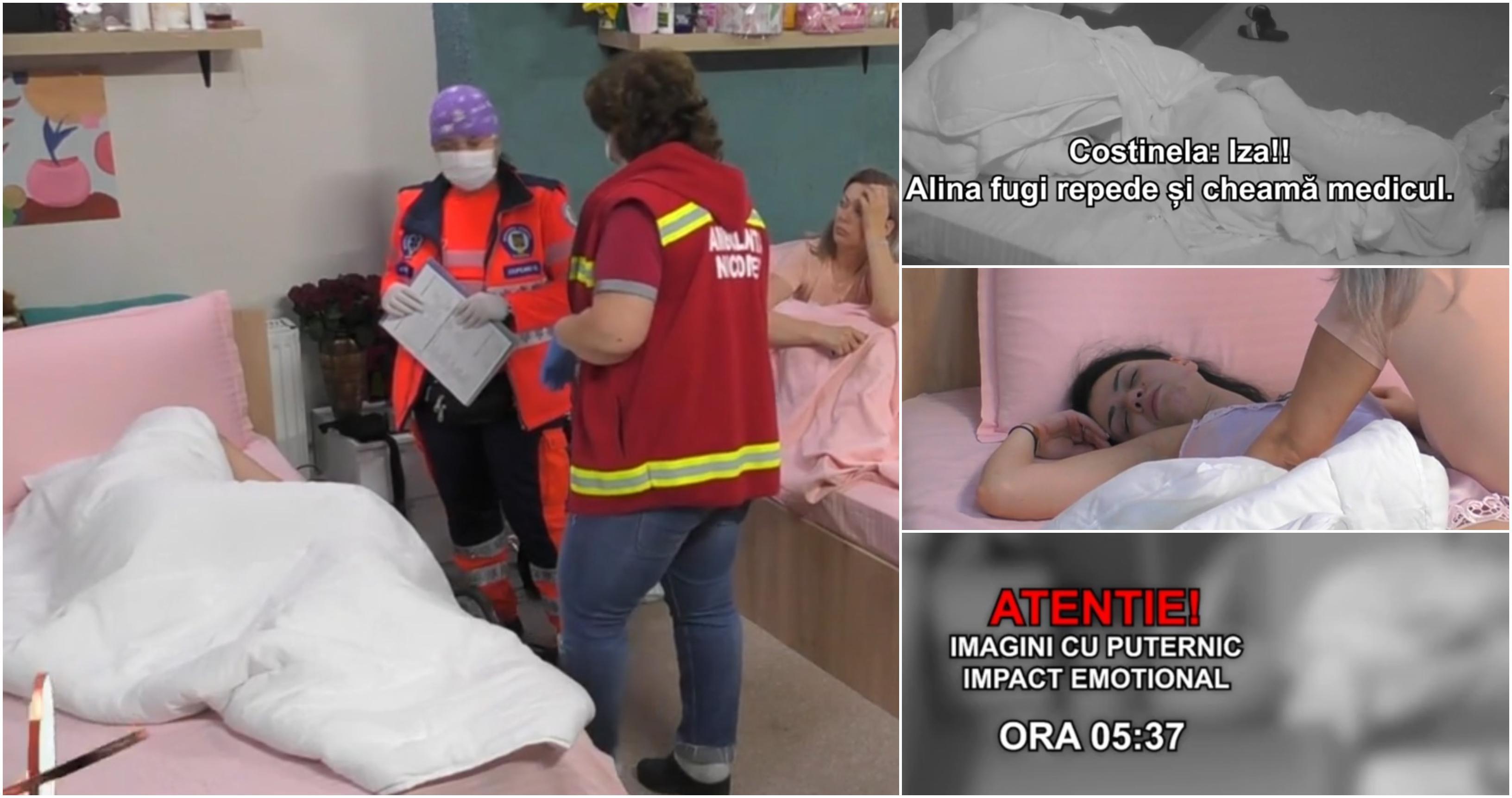 Mireasa 2021, sezonul 3. Izabela, crize violente de epilepsie în timpul nopții. Tânăra a fost transportată de urgență la spital