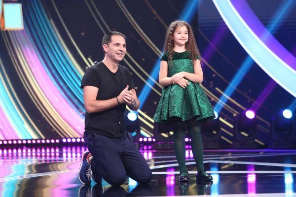 Bella Devyatkina, alături de Dan Negru, pe scena Next Star