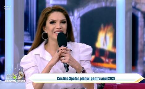 Cristina Spătaru, invitată la Neatza cu Răzvan și Dani
