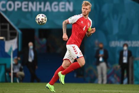 Cine e Simon Kjaer, fotbalistul-erou care l-a salvat pe Christian Eriksen. Cum arată Elina Gollert, soția sa, și copiii lor