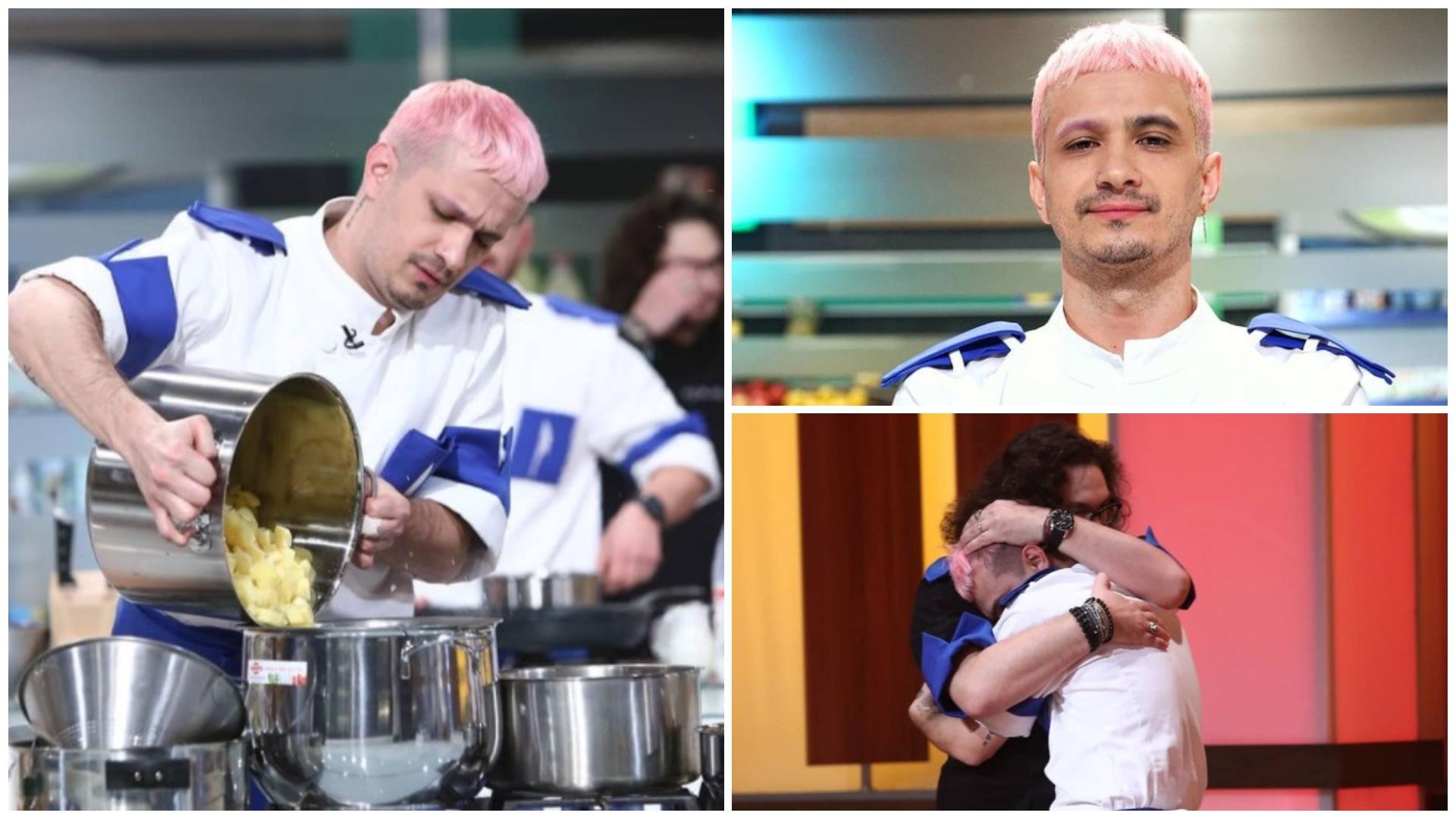 """Keed de la Chefi la cuțite, asaltat cu mesaje după ce a intrat în semifinală. Ce i-au transmis fanii: """"Ți-am pus o etichetă"""""""
