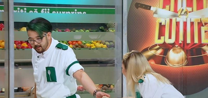 """Riki și Elena Matei, în bucătăria """"Chefi la cuțite"""""""