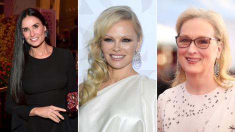 Colaj Pamela Anderson, Demi Moore si Meryl Streep