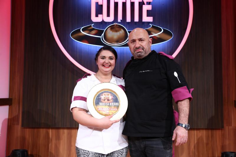 Narcisa Birjaru si catalin scarlatescu in finala Chefi la cuțite 2021
