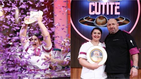 Prima reacție a Narcisei Birjaru după ce a câștigat Chefi la cuțite. Ce a avut de spus învingătoarea lui Chef Cătălin Scărlătescu
