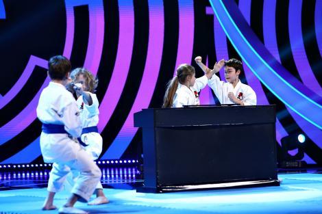 Next Star, 19 iunie 2021. Energy Fit, moment spectaculos de karate combinat cu muzică. Cum au reacționat jurații