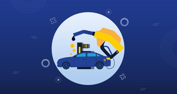 Cu soluția Consum Carburant ai acces în timp real  la date despre variația nivelului din rezervor